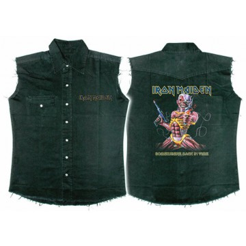 Iron Maiden Somewhere Back In Time Workshirt