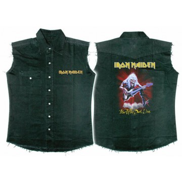 Iron Maiden Fear Of The Dark Live Workshirt