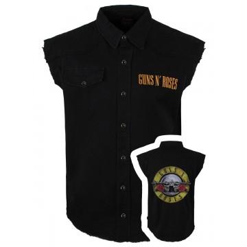Guns N Roses Bullet Logo Workshirt