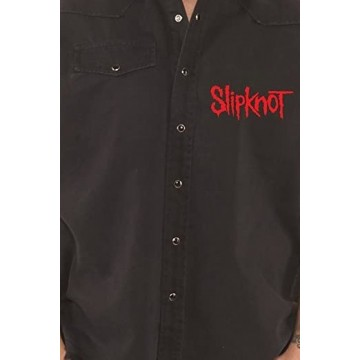 Slipknot 9 Pointed Star Workshirt