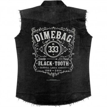 Dimebag Darrell Black Tooth Work Shirt