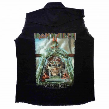 Iron Maiden Aces High Workshirt