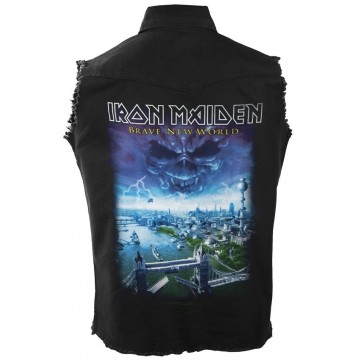 Iron Maiden Brave New World Workshirt