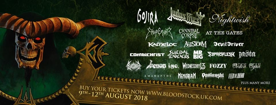 Bloodstock Open Air 2018.