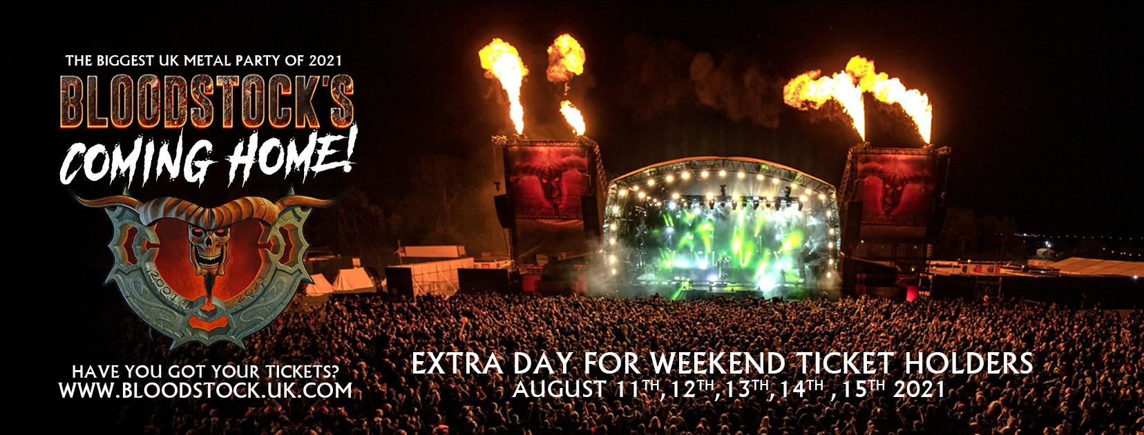 Bloodstock Open Air Festival 2021